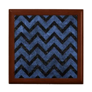 CHEVRON9 BLACK MARBLE & BLUE STONE (R) GIFT BOX
