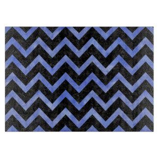 CHEVRON9 BLACK MARBLE & BLUE WATERCOLOR BOARDS