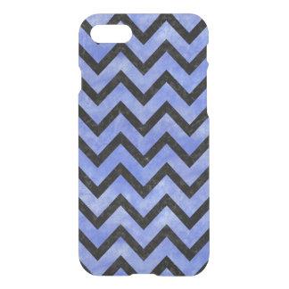 CHEVRON9 BLACK MARBLE & BLUE WATERCOLOR (R) iPhone 8/7 CASE
