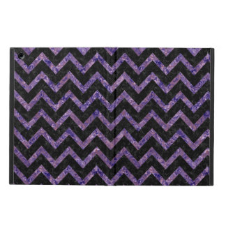 CHEVRON9 BLACK MARBLE & PURPLE MARBLE CASE FOR iPad AIR