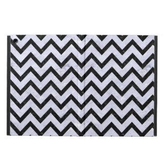 CHEVRON9 BLACK MARBLE & WHITE MARBLE (R) iPad AIR CASE