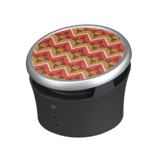 Chevron and triangles bluetooth speaker
