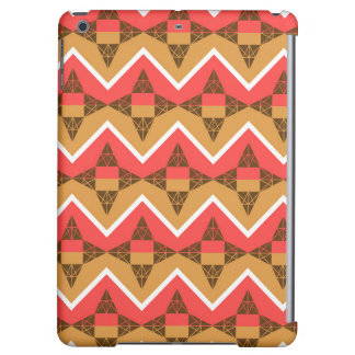 Chevron and triangles cover for iPad air