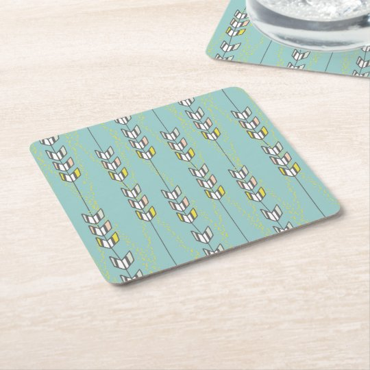 Chevron Arrows Tribal Illustration Coasters