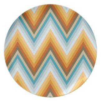 Chevron Background Pattern Plate