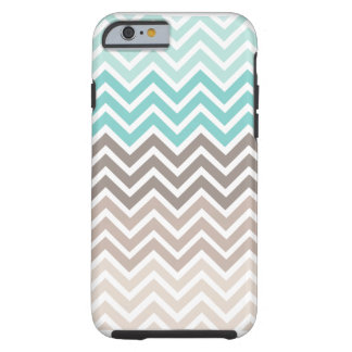Chevron Beach Color Scheme Tough iPhone 6 Case
