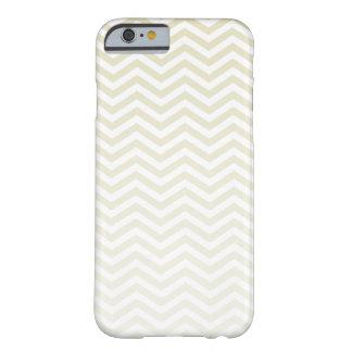 Chevron beige ; zigzag coque iPhone 6 barely there
