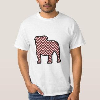 Chevron bulldog T-Shirt