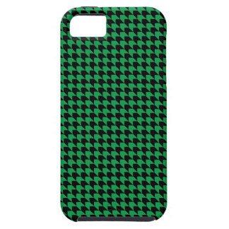Chevron Checks Green and Black iPhone 5 Cover