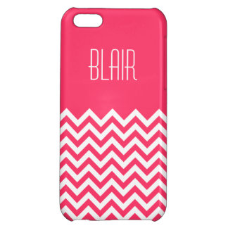 Chevron Color Block iPhone 5C Cover