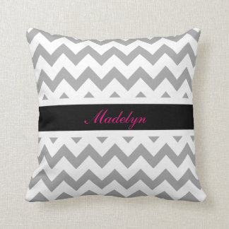 Chevron Custom Name Pillow