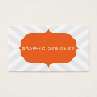 Chevron Design Business Card