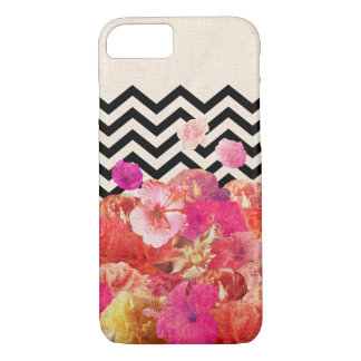 Chevron Flora II iPhone 7 Case