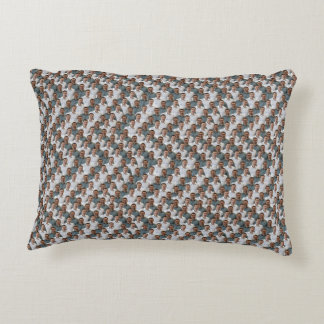 Chevron Friends Pillow