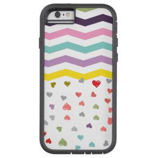 Chevron Hearts Tough Xtreme iPhone 6 Case