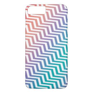 Chevron in Rainbow Colors iPhone 7 Plus Case