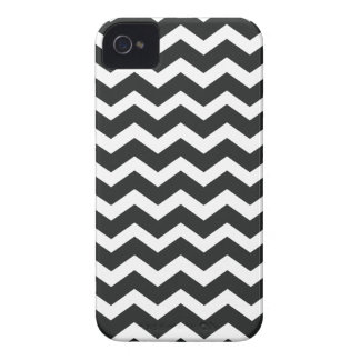 Chevron iPhone 4 Case Black and White