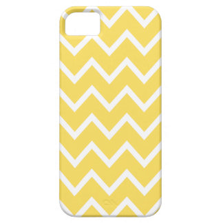 Chevron iPhone 5/5S Case in Lemon Yellow