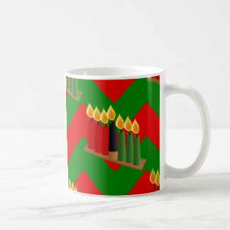 chevron kwanzaa coffee mug