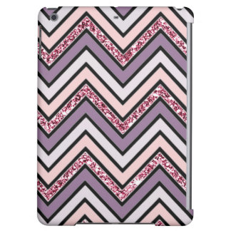 Chevron Lavender Pink & White Case For iPad Air