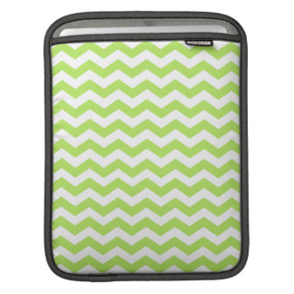 Chevron Lime Green iPad Sleeve