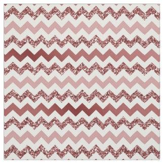 Chevron Marsala Red Gradient Fabric