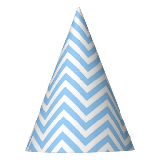 Chevron modern geometric elegant fashion party hat