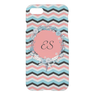 Chevron Monogram iPhone 8/7 Case