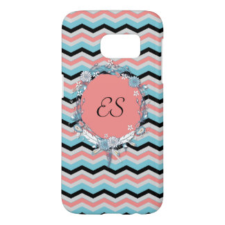 Chevron Monogram Samsung Galaxy S7 Case