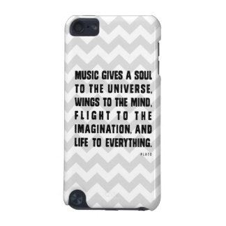 Chevron Music Gives A Soul To The Universe iPod Touch 5G Case