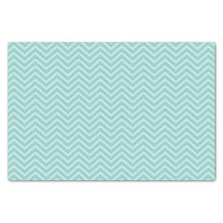 Chevron Ocean Surf Tissue Paper