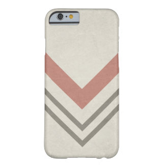 Chevron On A Neutral Background Barely There iPhone 6 Case