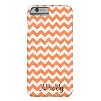 Chevron Orange Personalized Phone Case