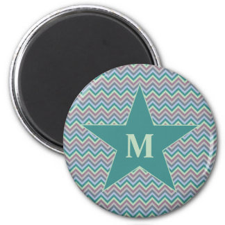 Chevron Pattern custom magnet