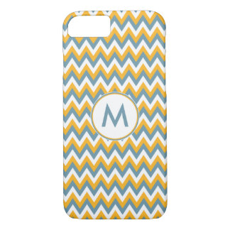 Chevron Pattern custom monogram cases
