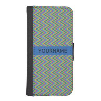 Chevron Pattern custom wallet cases iPhone 5 Wallet Case