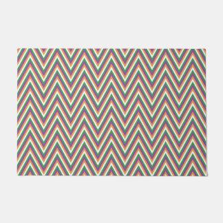 Chevron Pattern Design Doormat