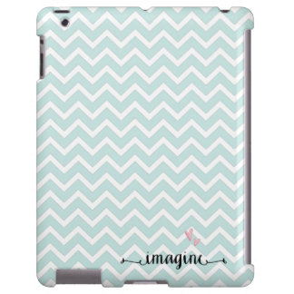 Chevron Pattern Imagine iPad Case