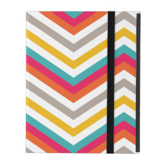 "Chevron pattern iPad ""2 3 4"" case"
