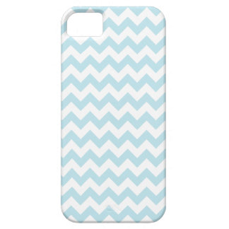 Chevron Pattern | Light Blue iPhone 5 Cases