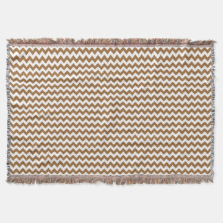 chevron pattern throw blanket