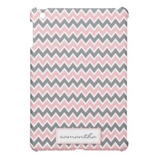 Chevron Pern (baby pink) iPad Mini Covers