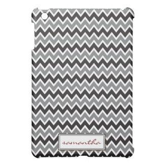 Chevron Pern (black) iPad Mini Cases