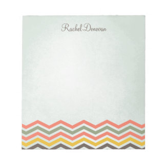 Chevron Personalized Notepad