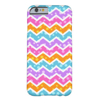 Chevron Polka Dots Barely There iPhone 6 Case