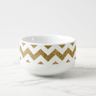 Chevron Soup Mug