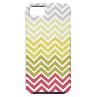 Chevron Strawberry Lemonade Color Scheme iPhone 5 Covers