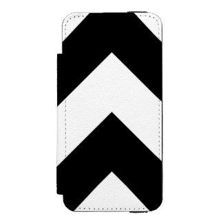 Chevron Stripes B&W iPhone Wallet Incipio Watson™ iPhone 5 Wallet Case