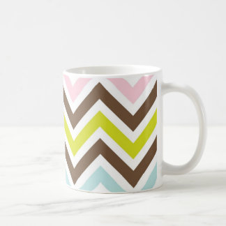 Chevron Stripes Striped Mug