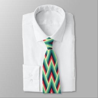Chevron Style Print Tie